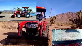 8. Mahindra 1526 HST Scoopin' Dirt