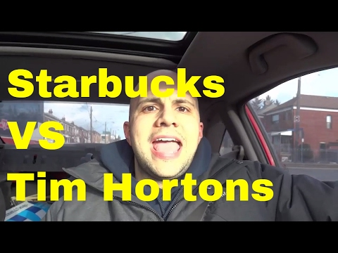 Starbucks VS Tim Hortons-Coffee Company Comparison