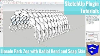 Video Modeling the Lincoln Zoo Boardwalk with Radial Bend and Soap Skin in SketchUp MP3, 3GP, MP4, WEBM, AVI, FLV Desember 2017