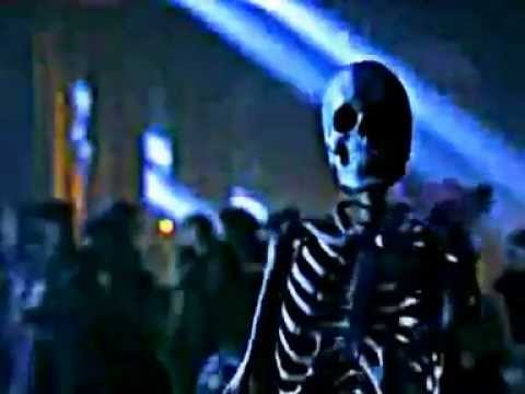 "Moonwalking Skeleton performing ""Is It Scary"" from ""Ghosts"""