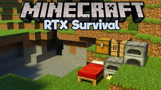 A Fresh Start for Minecraft RTX! • Minecraft RTX Survival S2 [Part 1]