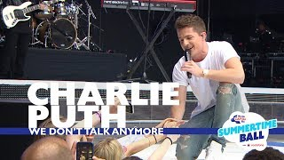 Video Charlie Puth - 'We Don't Talk Anymore'  (Live At Capital's Summertime Ball 2017) MP3, 3GP, MP4, WEBM, AVI, FLV Maret 2018