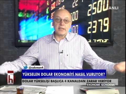Dr. Cüneyt Akman yanıtladı: Doların yükselişi ekonomiyi nasıl etkiliyor?