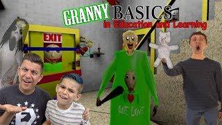 Video GRANNY IS BALDI'S GRANDMA?! Baldi's Basics Granny Mod Gameplay MP3, 3GP, MP4, WEBM, AVI, FLV Desember 2018