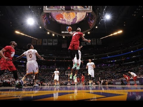 NBA - Take a look at the best slam dunks, alley-oops and high-flying action from the 2013-2014 NBA season! About the NBA: The NBA is the premier professional baske...