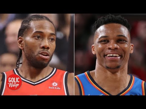 Video: Kawhi to Clippers creates parity, Russ a great fit for Heat - Quentin Richardson | Golic and Wingo