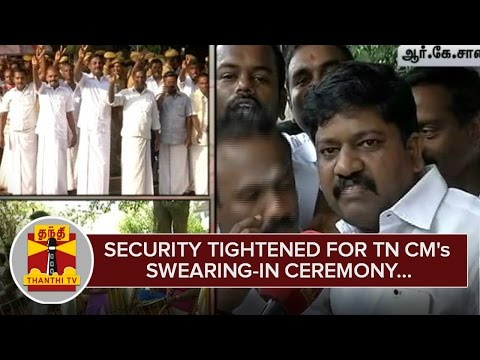 Security-tightened-for-AIADMK-Supremo-Jayalalithaas-Swearing-in-Ceremony--Thanthi-TV
