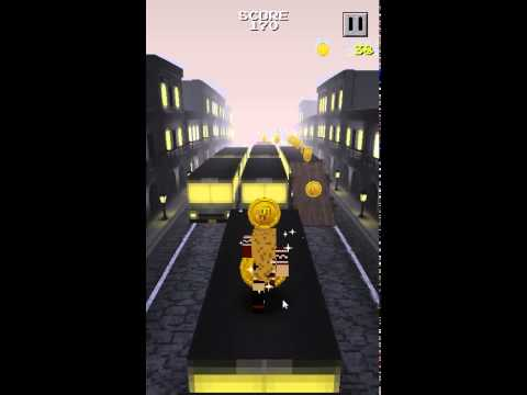 Video of Pixel Runner - Scary Bear