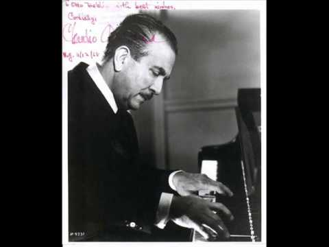 "Arrau plays Chopin ""Krakowiak"" (I)"