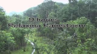 Video Heavy Rainfall +Thunder sounds(Sleep+Relax+Focus+Meditate)HD 1080p MP3, 3GP, MP4, WEBM, AVI, FLV Agustus 2019