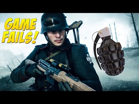 Too Many Grenades! (Game Fails #106)