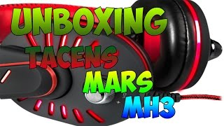 UNBOXING MARS GAMING MH3