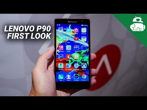 Lenovo P90 First Look