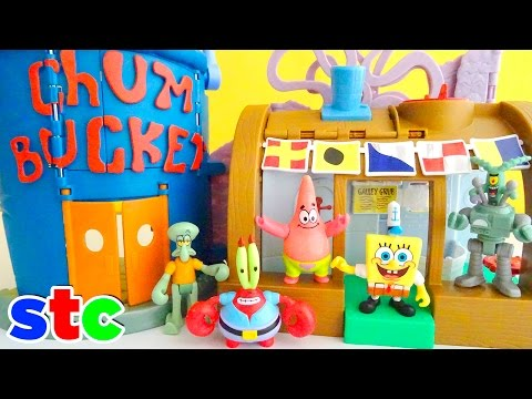Fisher Price Imaginext Bob Esponja set del Crustacio Cascarudo