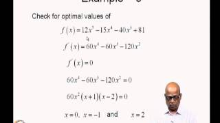 Mod-01 Lec-04 Optimization: Functions Of Multiple Variables