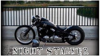 5. 2000 Yamaha V Star 650 Bobber The Night Stalker
