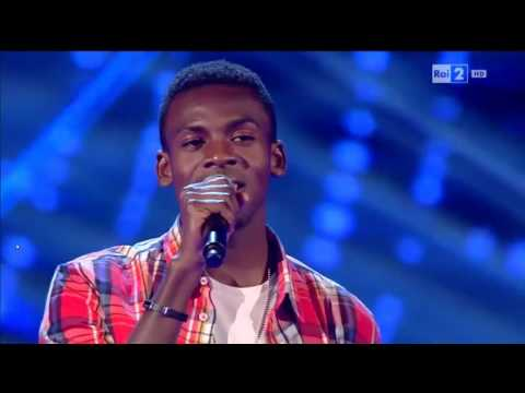 Charles Kablan - Hello | The Voice of Italy 2016 - Blind Audition (видео)