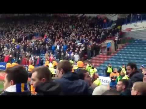 Leeds Fans At Huddersfield - Moments After The 2nd Goal