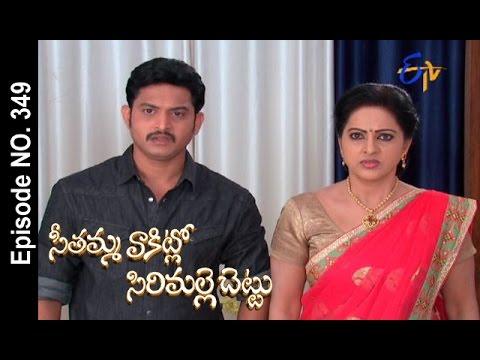 Seethamma Vakitlo Sirimalle Chettu  17th October 2016 Full Episode No 349  ETV Telugu