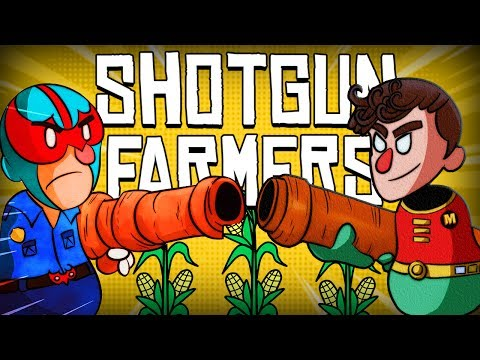 Shotgun Farmers Funny Moments - Cowboy Standoff, King of the Barn, Catch the Chicken!