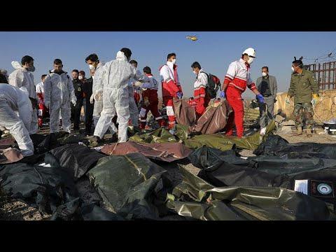 Συντριβή Boeing στο Ιράν: Βίντεο της τραγωδίας – Συμμετοχή ΗΠΑ και Καναδά στις έρευνες…
