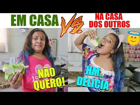 EM CASA VS NA CASA DOS OUTROS! - JULIANA BALTAR (видео)