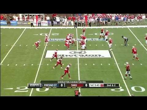 Derek Carr vs Southern Methodist (SMU) 2012 Bowl video.