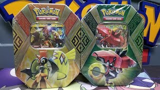 Tapu Tin Battle! Opening 2 Tins of Pokemon Cards! by The Pokémon Evolutionaries