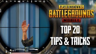Top 20 Tips & Tricks in PUBG Mobile | Ultimate Guide To Become a Pro