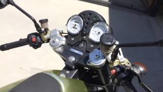 10. 2003 Moto Guzzi V11 Sport Naked
