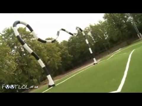 Самое кривое поле и ворота