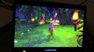 Gameplay off-screen