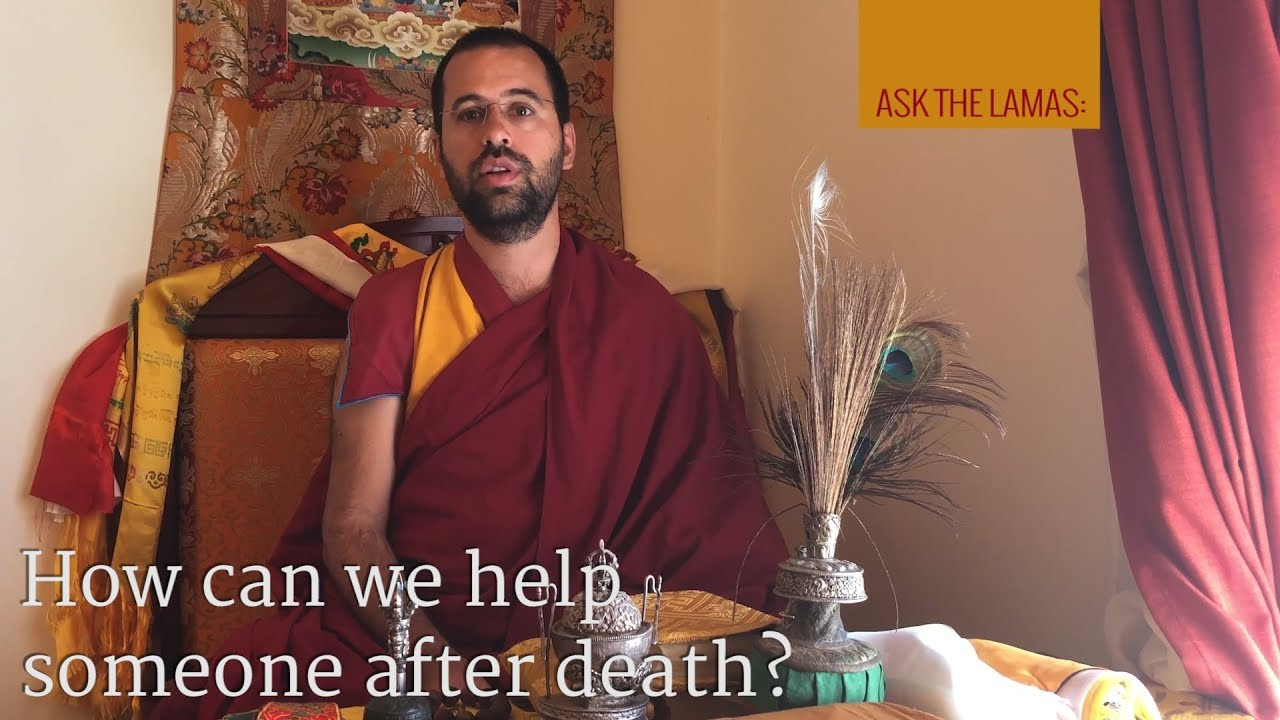How can we help someone after death?
