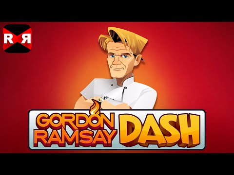 Gordon Ramsay DASH (By Glu Games) - IOS / Android - Gameplay Video