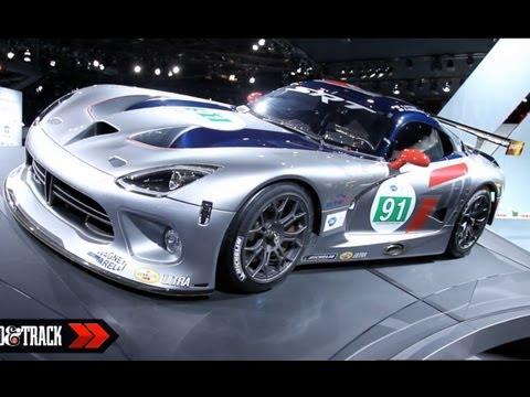 Dodge  2013 SRT Viper GTS-R - ALMS GT Racer @ 2012 New York Auto Show