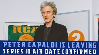 Peter Capaldi has dropped the bombshell of his leaving. Christmas will be our final time with the timelord...-------------------------------------------------------------Side Channel: http://goo.gl/jLTgcRPatreon: https://www.patreon.com/TheDoctorOfWhoTwitter: http://twitter.com/#!/TheDoctorOfWhoInstagram: https://instagram.com/thedoctorofwho/Facebook: http://www.facebook.com/pages/WillLOVESKaren/135047939933027