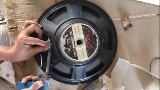 Video How fix Speaker Bass when Voice Coil broken | How to Change Voice Coil of Bass Speaker MP3, 3GP, MP4, WEBM, AVI, FLV Oktober 2018