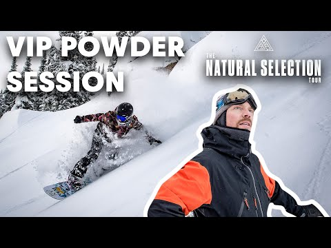 "Travis Rice's Jackson Hole Backcountry Powder Session | ""The Natural Selection"" Test Event"