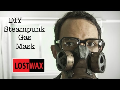 How To Make a DIY Steampunk Gas Mask. Tutorial and Pattern. Halloween Costume idea