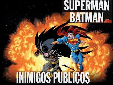 Quadrinhos: Batman e Superman Inimigos Públicos
