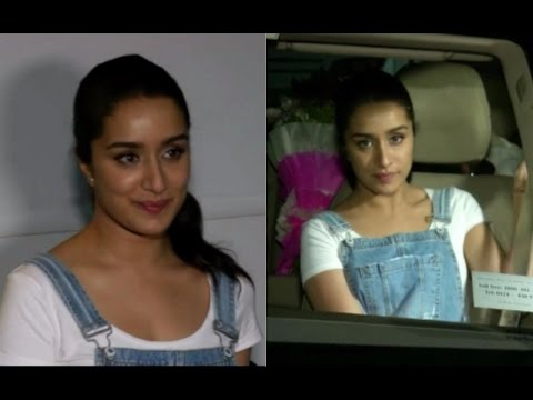 Shraddha Kapoor Spotted At Bandra
