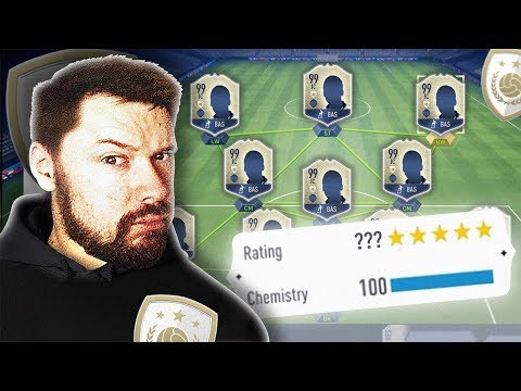 FULL WORLD CUP ICON SQUAD BUILDER! - FIFA 18 World Cup Ultimate Team (видео)