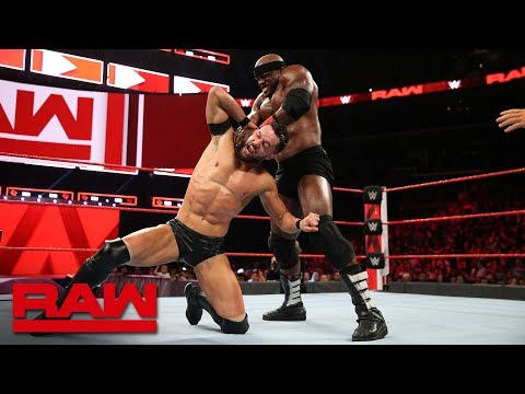 Finn Bálor Vs. Bobby Lashley: Raw, Oct. 29, 2018