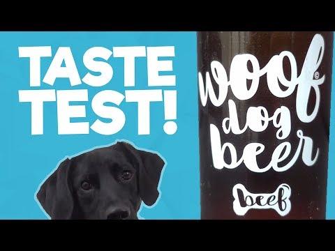 Woof Dog Beer - Buddy The Borador Taste Test