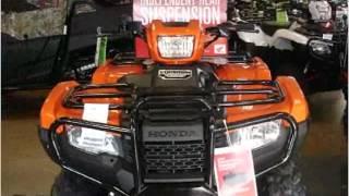 3. 2016 Honda TRX500FM New Cars Pittsburgh PA