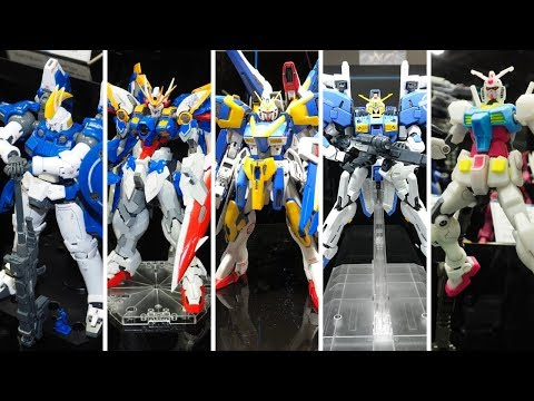 New 2019 Gunpla Announced! Mg Ex-s, Victory Two Assault Buster, Rg Tallgeese Ii & More!