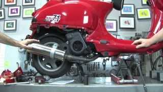 4. Installing a Malossi Kit/Polini Upgear Kit on a Vespa S 150