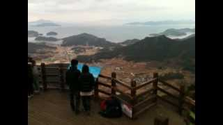 Tongyeong-si South Korea  city photos gallery : Tongyeong Harbor View Point South Korea