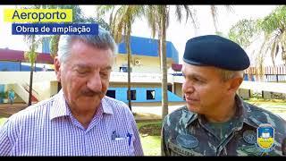 Exército vai executar obra de ampliação do aeroporto de Dourados