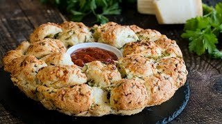 Garlic Cheese Monkey Bread